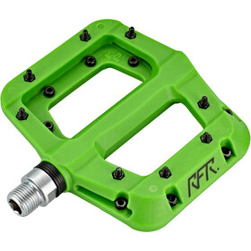 Cube RFR Flat HPP Race Pedale green